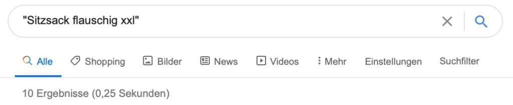 """10 Google-Ergebnisse für """"Sitzsack flauschig xxl"""""""