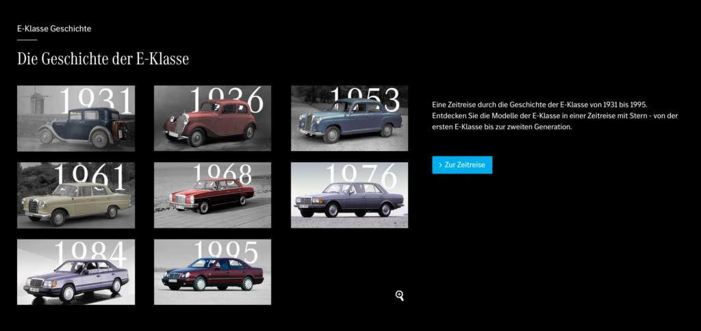 8 Modelle der Mercedes E-Klasse bis heute