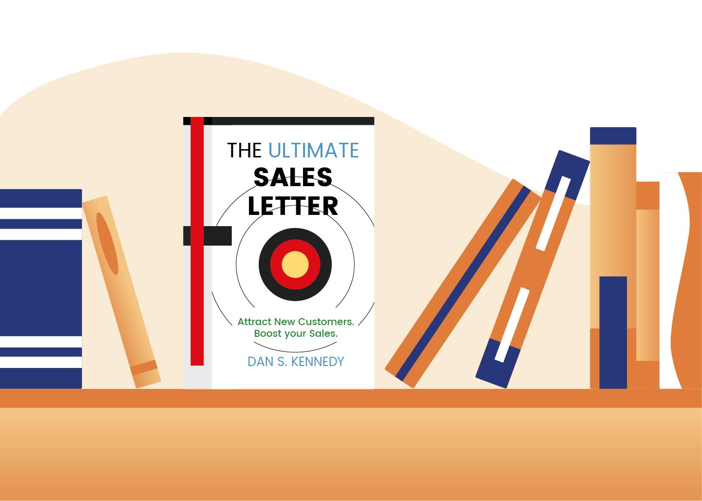 Cover von The Ultimate Sales Letter von Dan Kennedy im Bücherregal